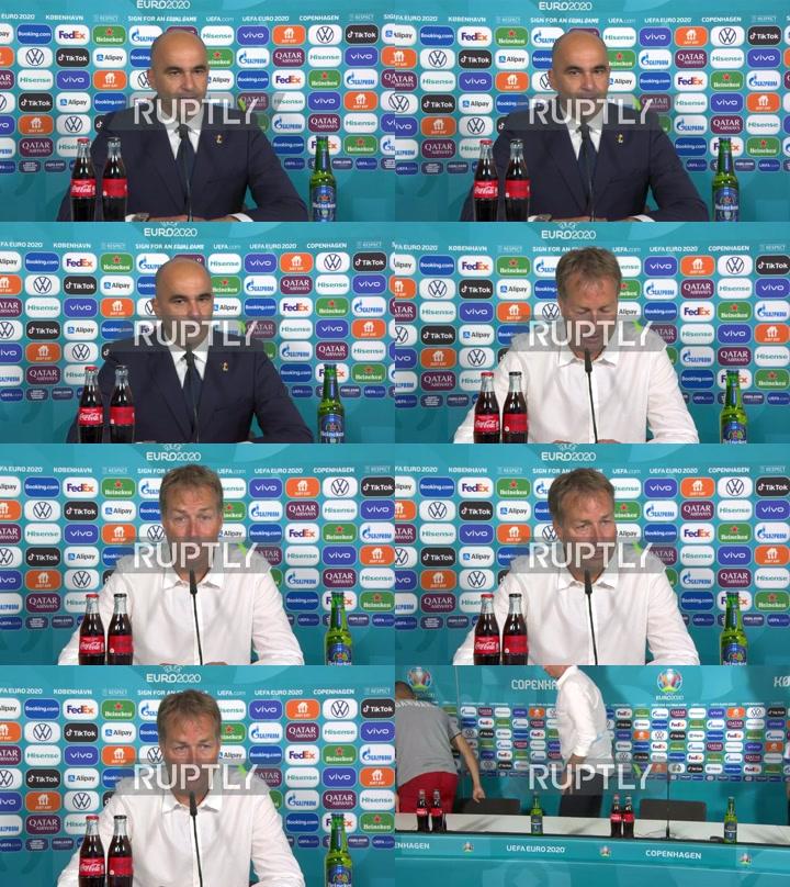 Denmark: Danish coach praises squad despite second Euro 2020 defeat