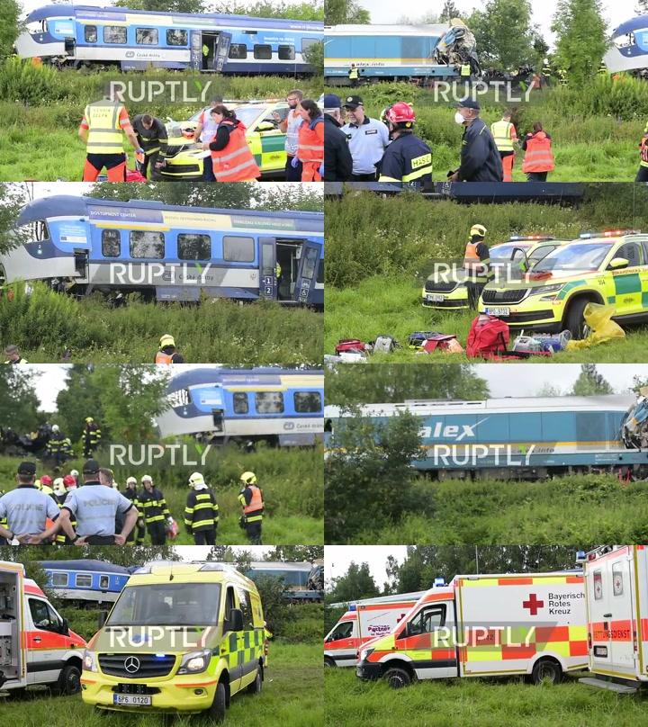 Czech Republic: At least 2 dead, dozens injured in train crash