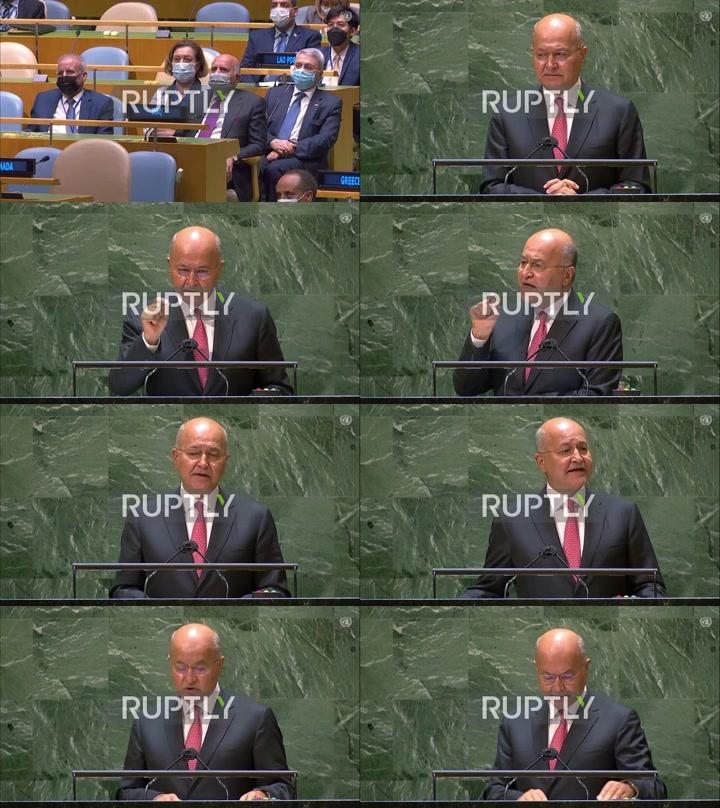 UN: 'Corruption is political economy of violence and terrorism' – Iraqi pres at UNGA