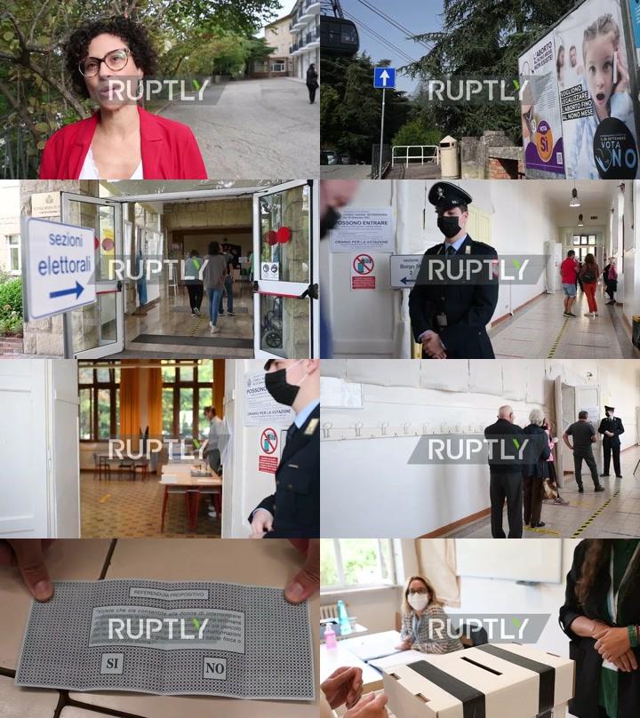 San Marino: Residents vote in abortion referendum