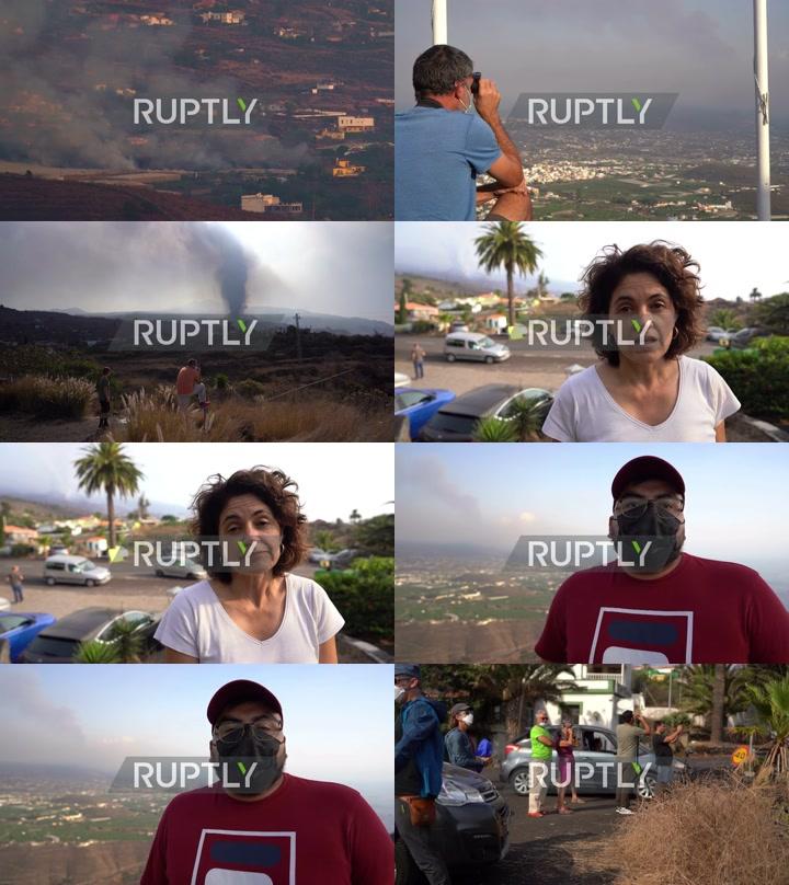 Spain: Tourists flock to La Palma for volcano eruption