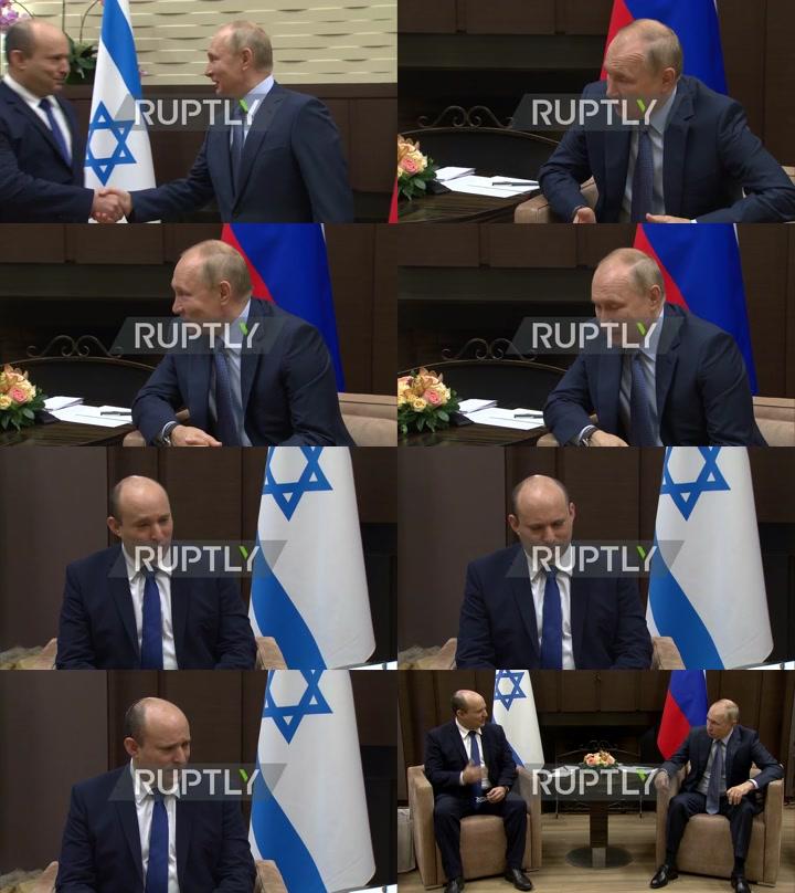 Russia: Putin, Israeli PM Bennett meet for first time in Sochi